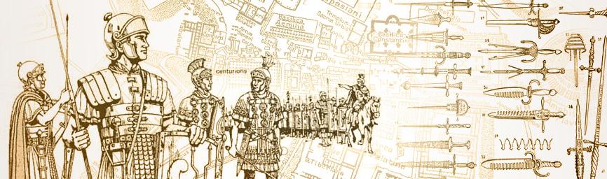 Uzbrojenie obronne rzymskich legionistów