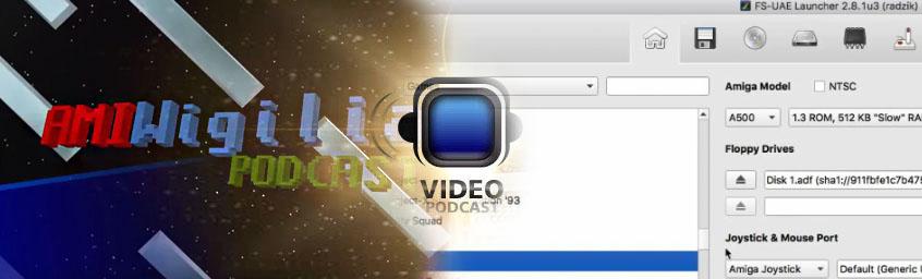 AmiWigilia video – Emulator Amigi FS-UAE