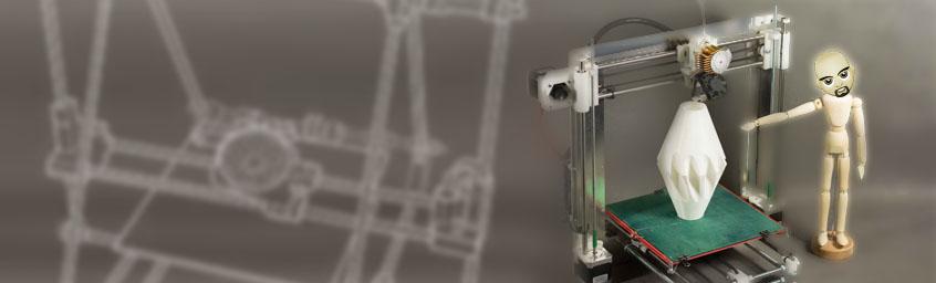 Androny Profesora Leniucha – Audycja 006 – Kilka słów o idei REPRAP i o procesie wydruku 3D