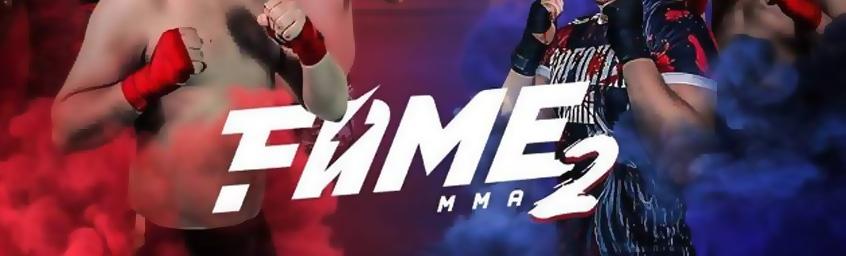 Relacja z walk FAME MMA2