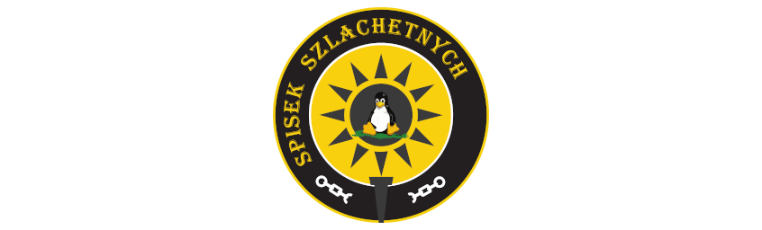 "logo audycji ""Spisek szlachetnych"""
